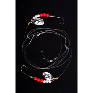 Imax Flounder Rig 2 White  Red Bead Sp-Blades